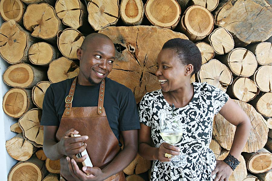 Favoritt restauranten The Kitchen, Sør-Afrika: En omtale