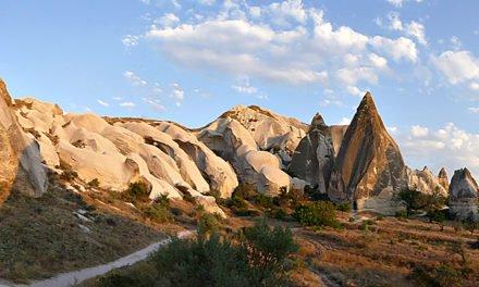 Utenomjordiske Cappadocia i Tyrkia!