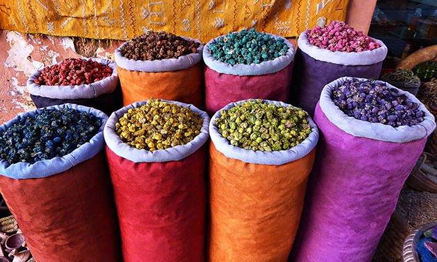 Min mann i Marrakech