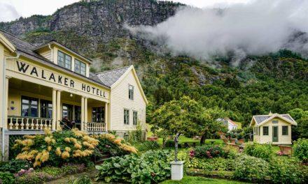 Hotell Walaker, Vestlandet: En hotellomtale