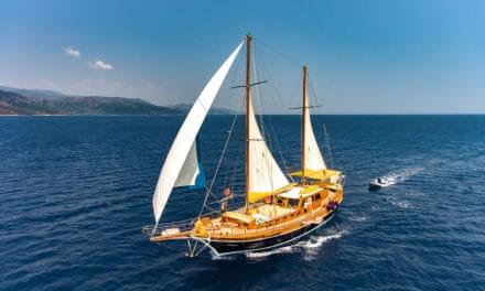 Øyhopping i Hellas verdig en dronning