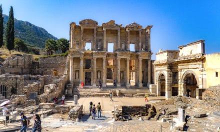 Efesos i Tyrkia, storslagen antikk by!