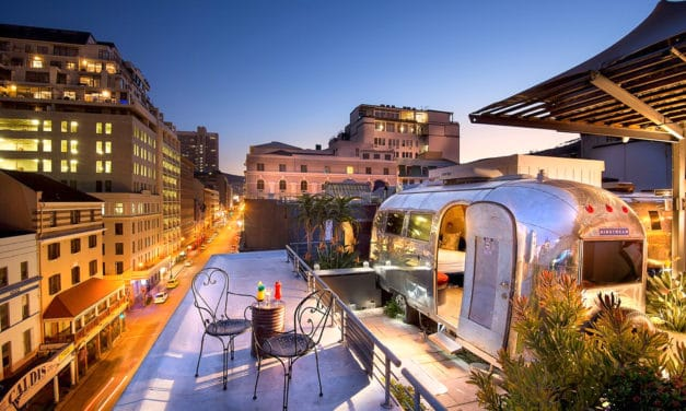 Grand Daddy, heftig hotell opplevelse i Cape Town