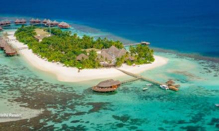 Romantiske Mirihi, Maldivene: En hotellomtale