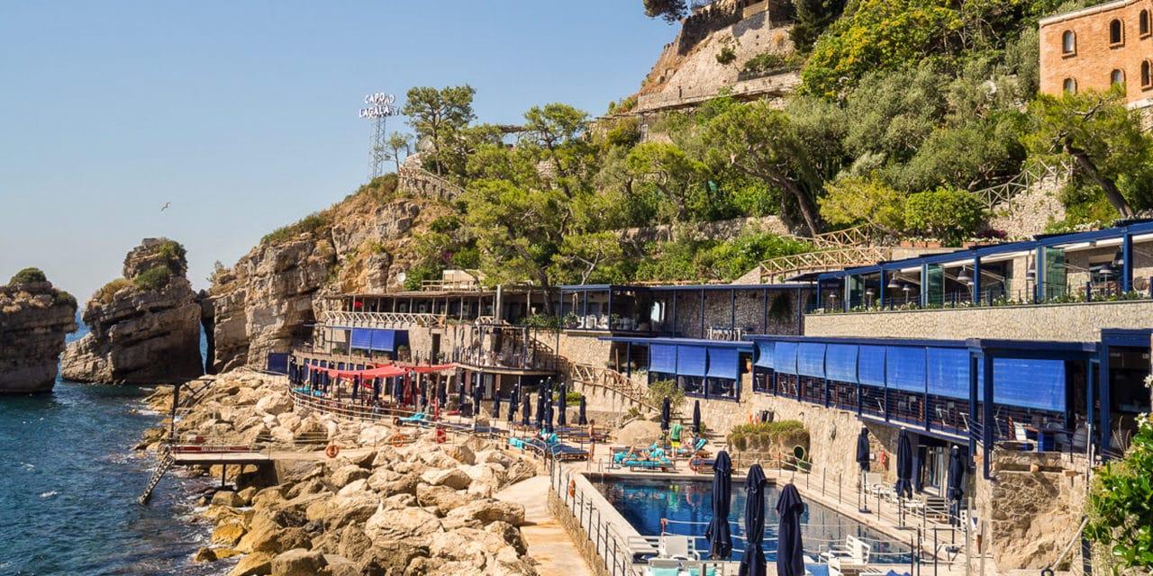 Strictly seaview-Hotel Capo La Gala, Italia. En hotellomtale.