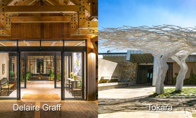 Delair Graff og Tokara, Sør-Afrika for ekte livsnytere.