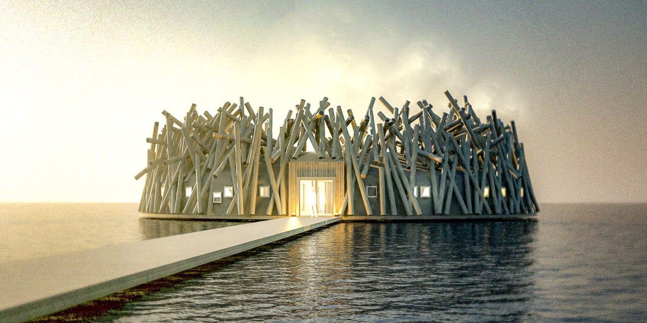 Spennende nytt badehotell på trappene i Sverige!