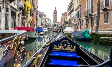 Venezia – galskap på stylter!