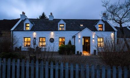 Bli med til en av Skottlands beste restauranter (med hotell)