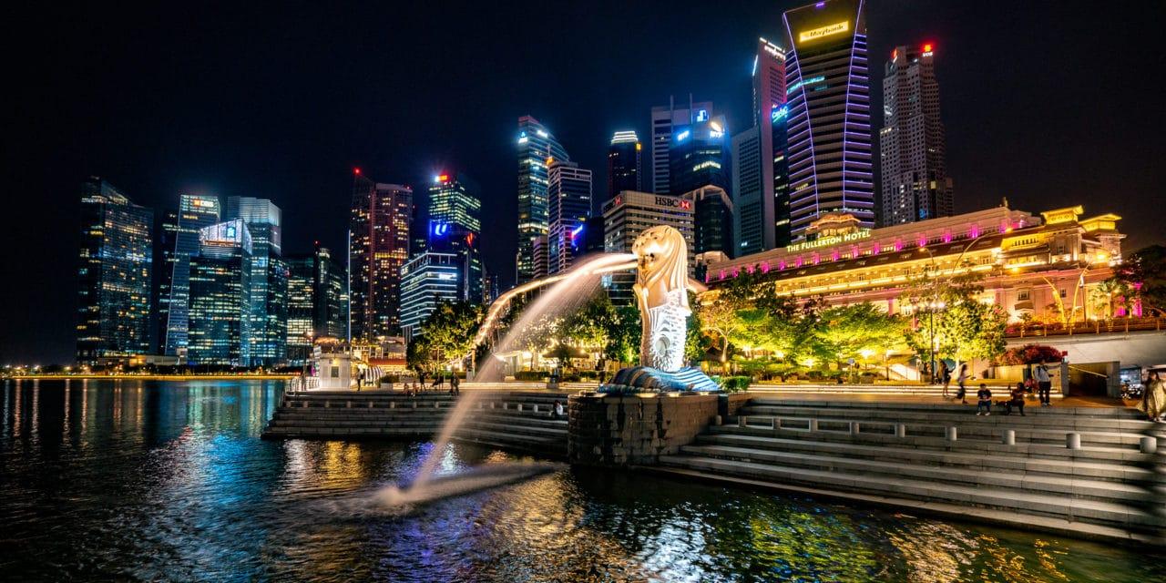 Singapore by night, foto safari om natten.