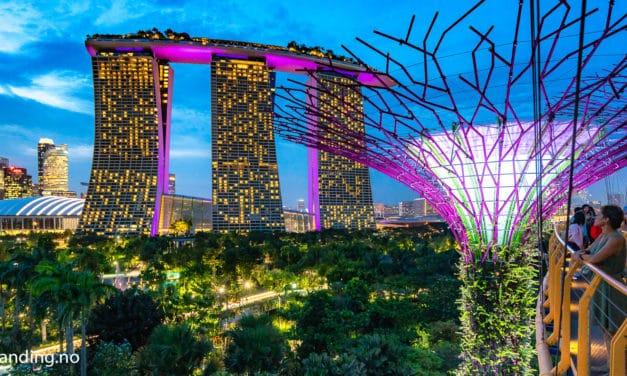 Hvorfor vi aldri kommer til å bo på Marina Bay Sands i Singapore