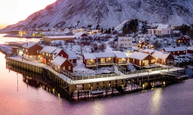 Moderne rorbuer med sjel i Lofoten, Hattvika Lodge!