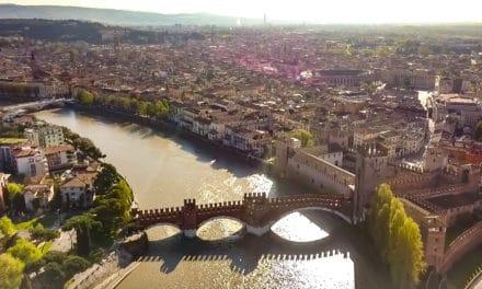 Kjærlighetsbyen Verona, Italia